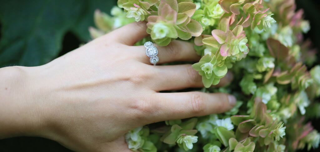 Modern and Vintage Engagement Rings and Wedding Bands