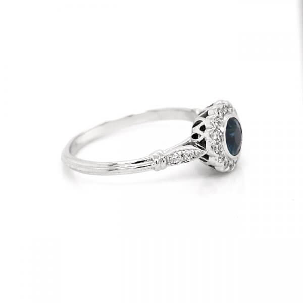 Floral Sapphire Ring OroSpot R2001ven