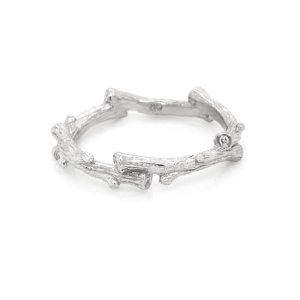 Twig Diamond Wedding Ring