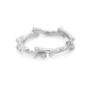 Twig Diamond Wedding Ring