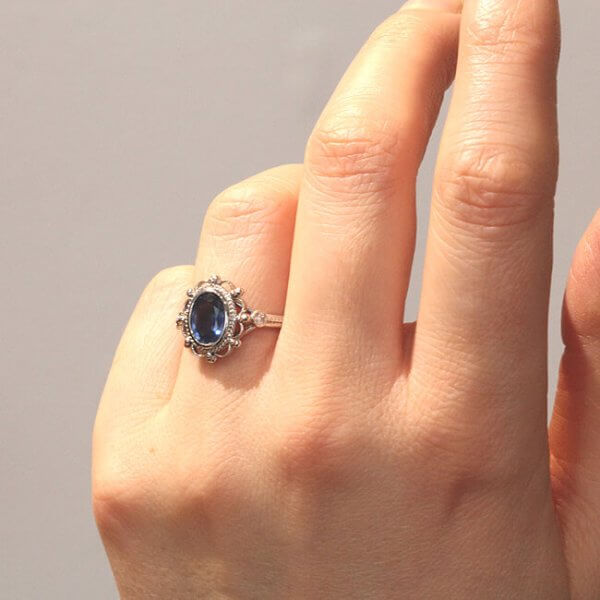 unique victorian engagement ring