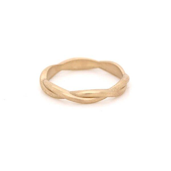 Braided Rope Wedding Ring 2.7mm OroSpot