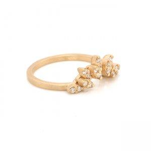 Chevron Tiara Diamond Ring Enhancer
