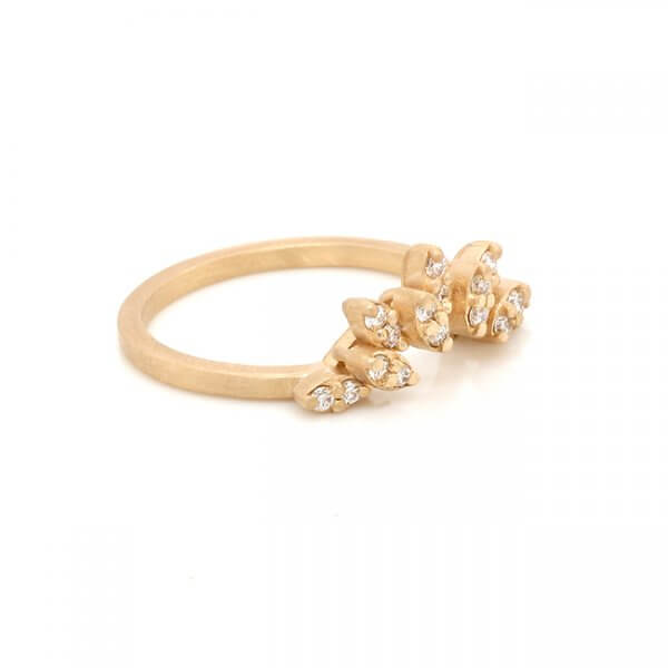 Chevron Tiara Diamond Ring Enhancer