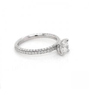 Diamond Modern Engagement ring