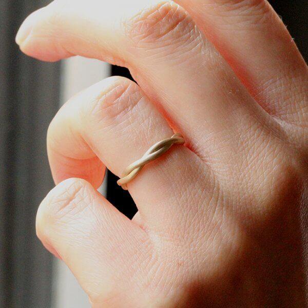 Infinity Eternity Wedding RIng 2.7mm