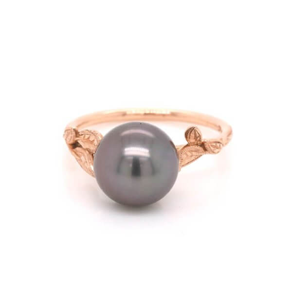 Nature Inspired Pearl Ring