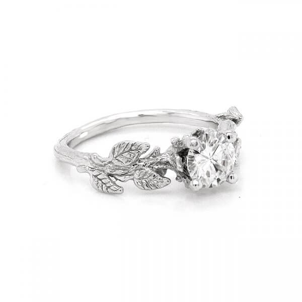 Nature inspired promise ring by OroSpot
