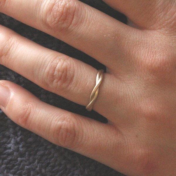 Rope Rounded Thins Wedding Ring OroSpot