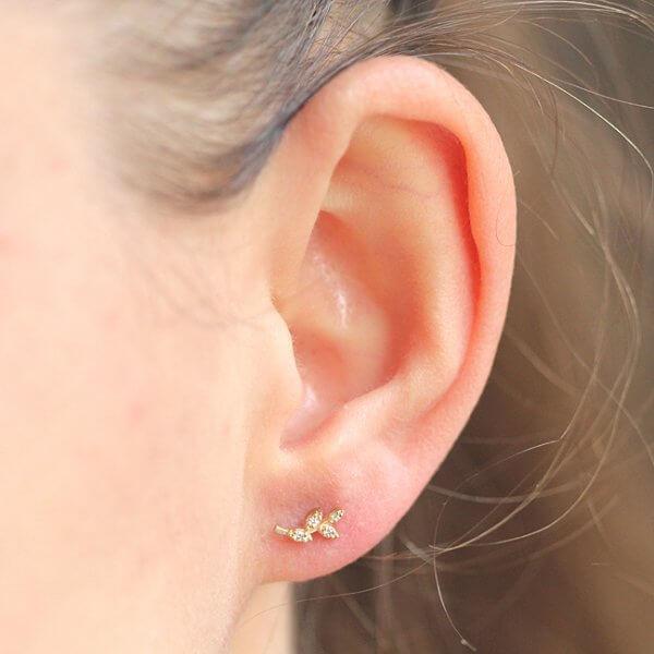 Simplistic Climbers Diamond Earrings OroSpot