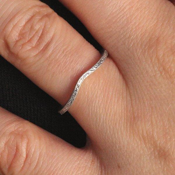 Super thin vintage ring enhancer