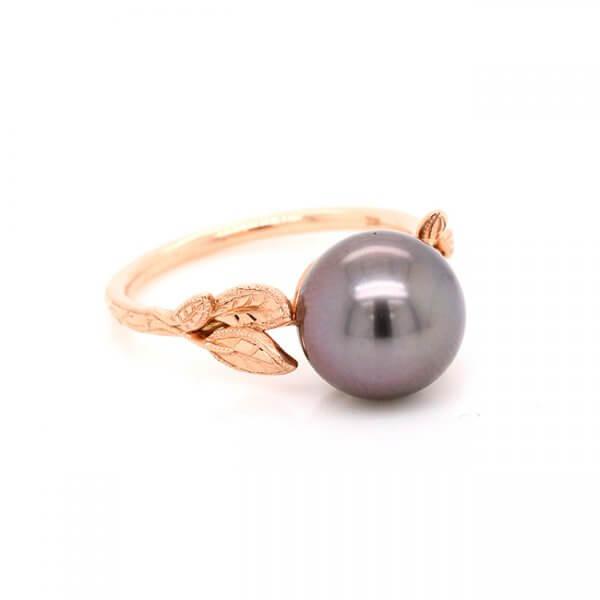 Tahitian Pearl Gold Ring OroSpot