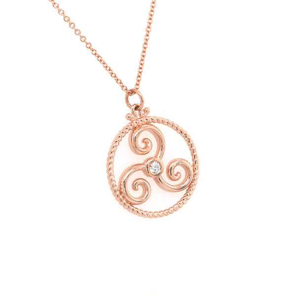 Triskelion Celtic Symbol OroSpot