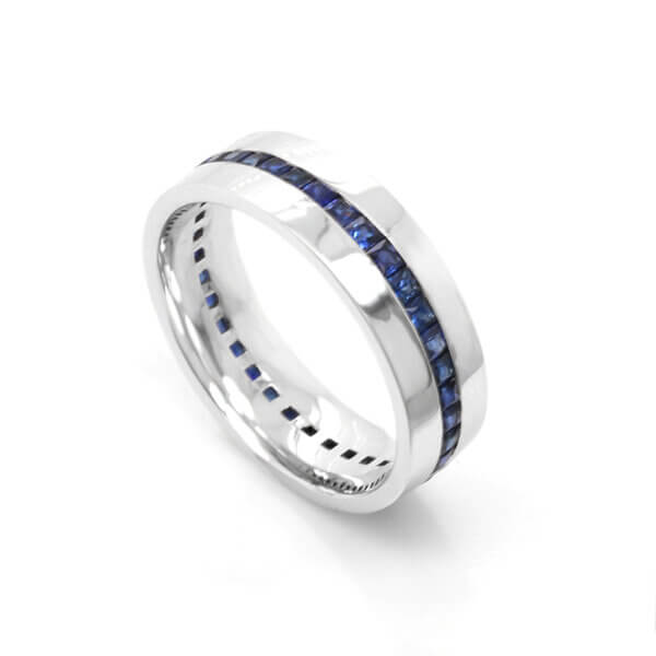 Mens-modern-sapphire-wedding-ring-by-oroSpot