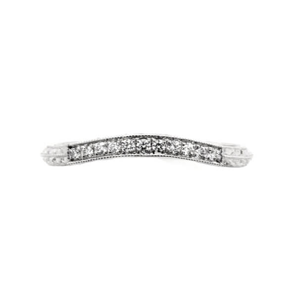 Vintage-ring-enhancer-with-engraving-and-diamond-by-OroSpot