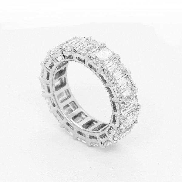 Diamond Emerald Wedding Ring