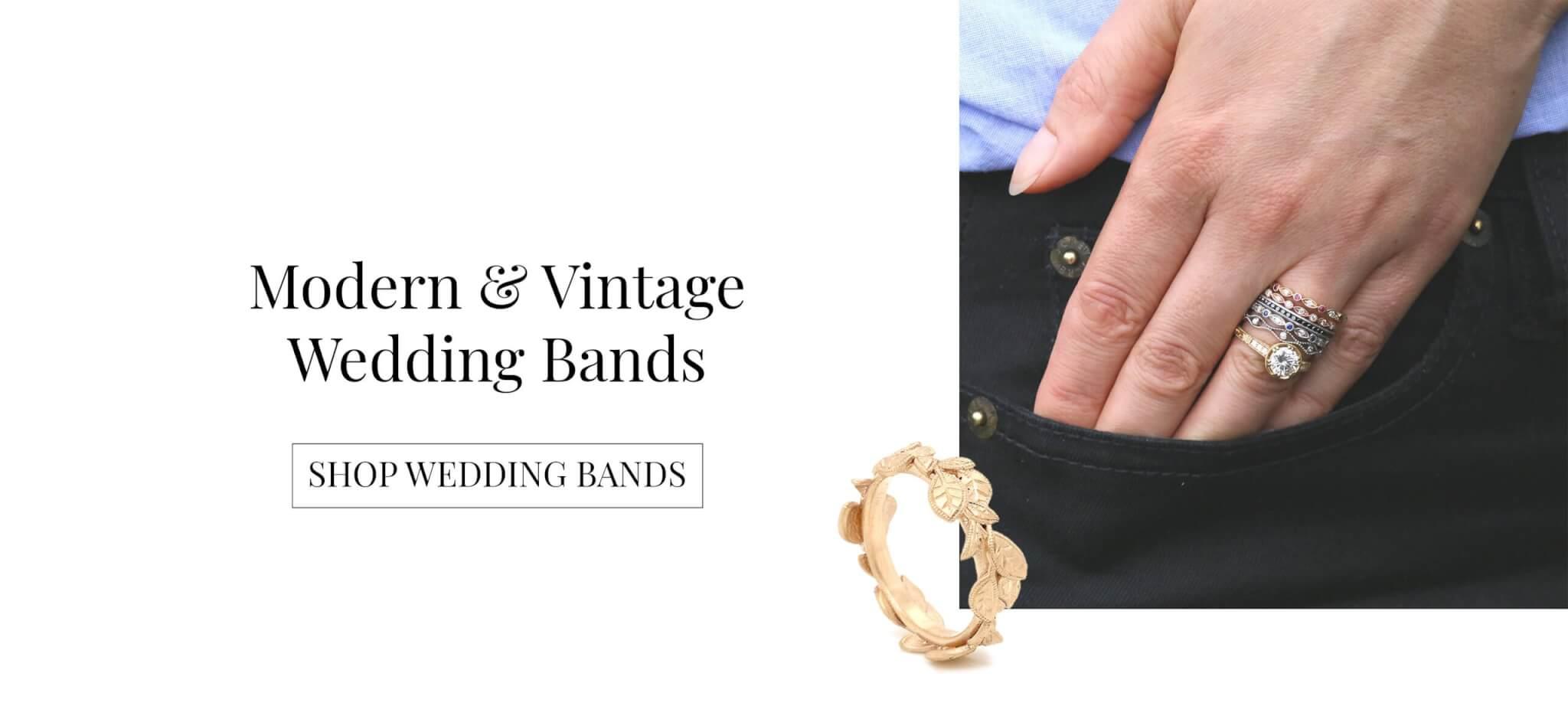 Modern & Vintage Wedding Bands, OroSpot, New York