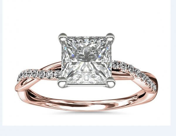 Rose Gold Engagement Ring from OroSpot New York - featured image for Engagement Ring Pricing