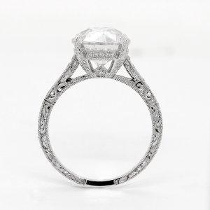 Art Deco Vintage Diamond Ring OroSpot