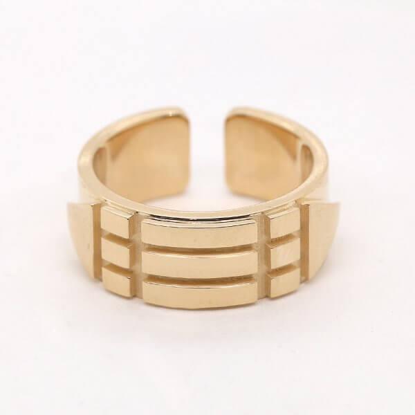 Atlantean Men's Gold Ring OroSpot