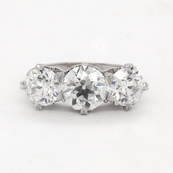 Edwardian Inspired OEC Ring